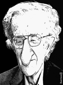 Chomsky, A Caricature by Iain Harrison